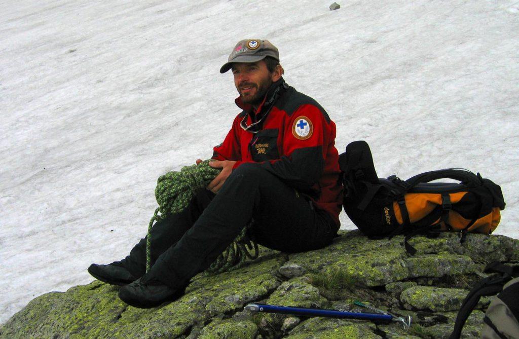Edward Lichota - zastępca naczelnika TOPR w górach