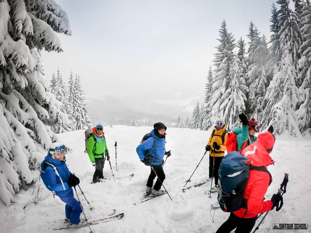Gęsia Szyja na skitourach 2