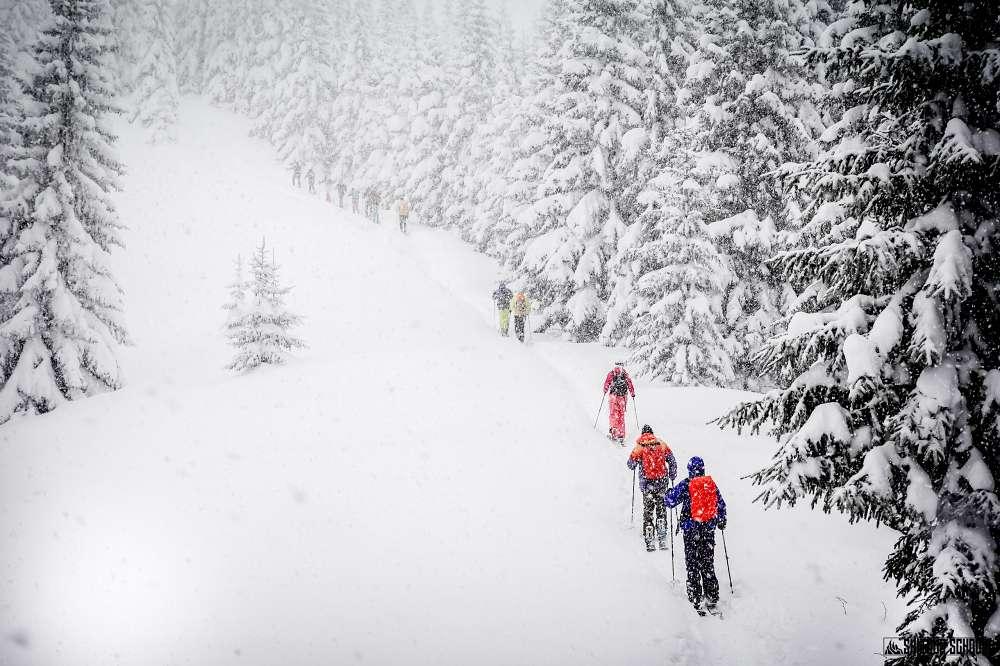 Gęsia Szyja na skitourach 3