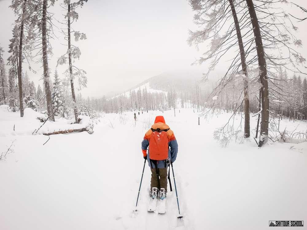 Gęsia Szyja na skitourach 4