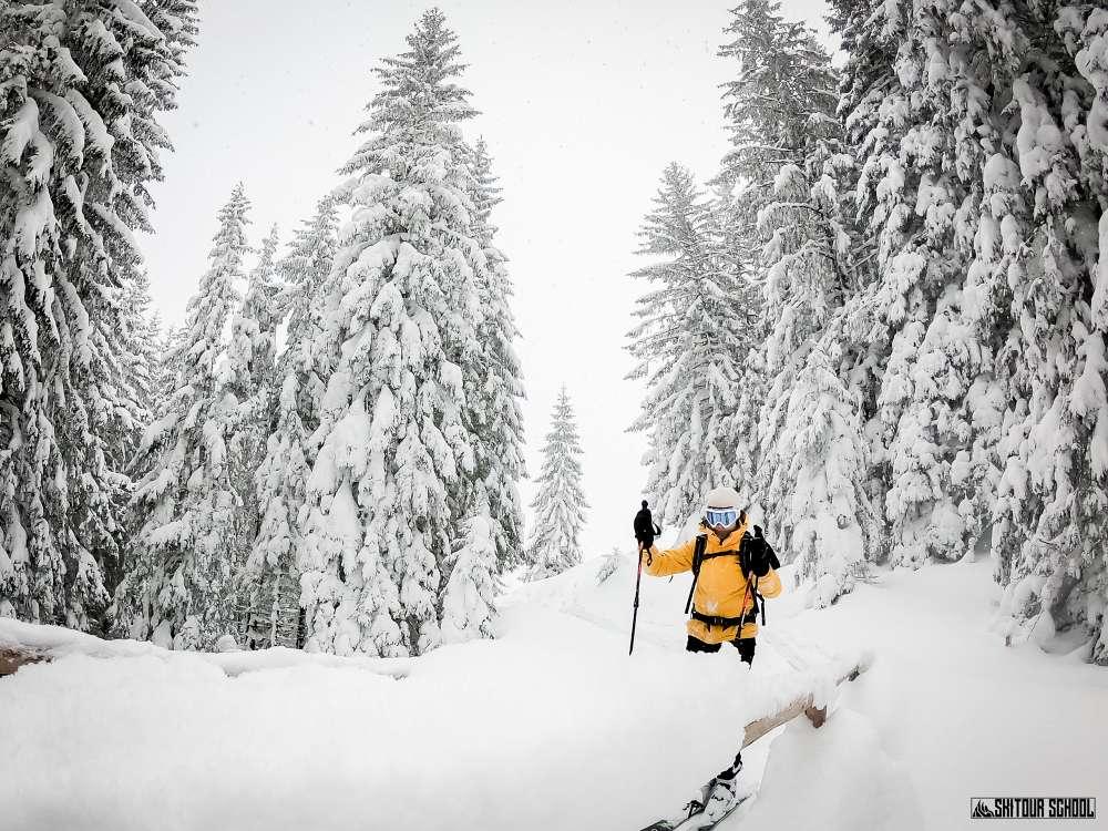 Gęsia Szyja na skitourach
