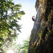 Pierwsze kroki we wspinaczkowym świecie na Podhalu