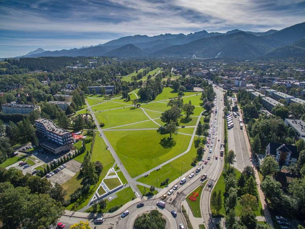 Rówień Krupowa. Burzliwa historia łąki w centrum Zakopanego. Fot. M. Adamczyk (Urząd Miasta Zakopane)