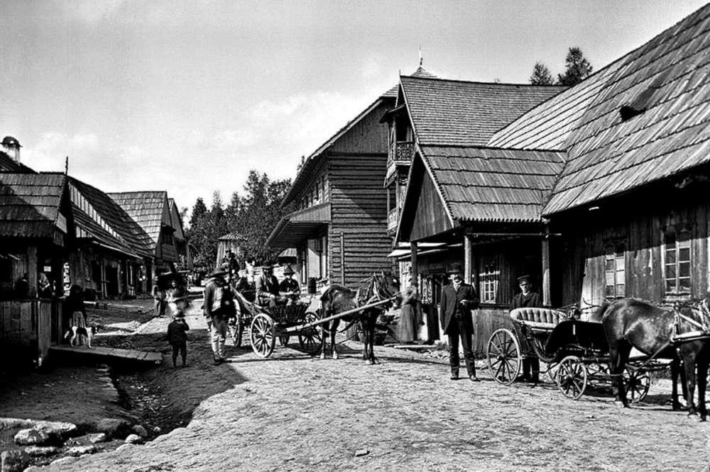 Ulica Kościeliska - najstarsza ulica w Zakopanem