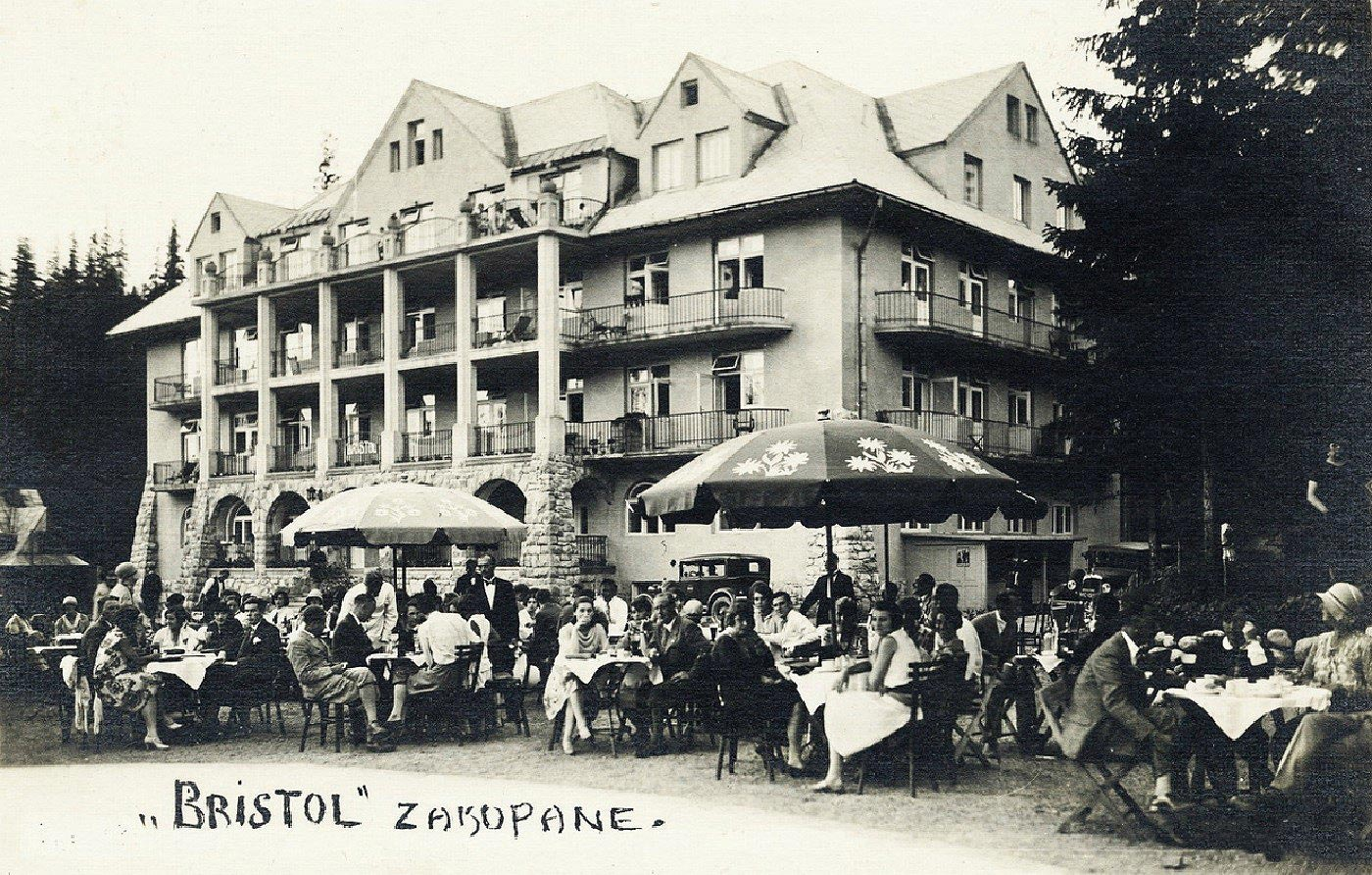 Goscie hotelu Bristol w Zakopanem
