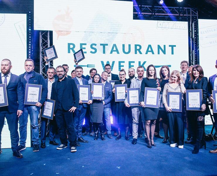 Najlepsze restauracje w Polsce nagrodzone na Gali Restaurant Week 2018