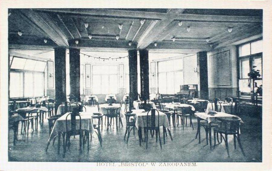 Sala Restauracyjna Bristol Zakopane