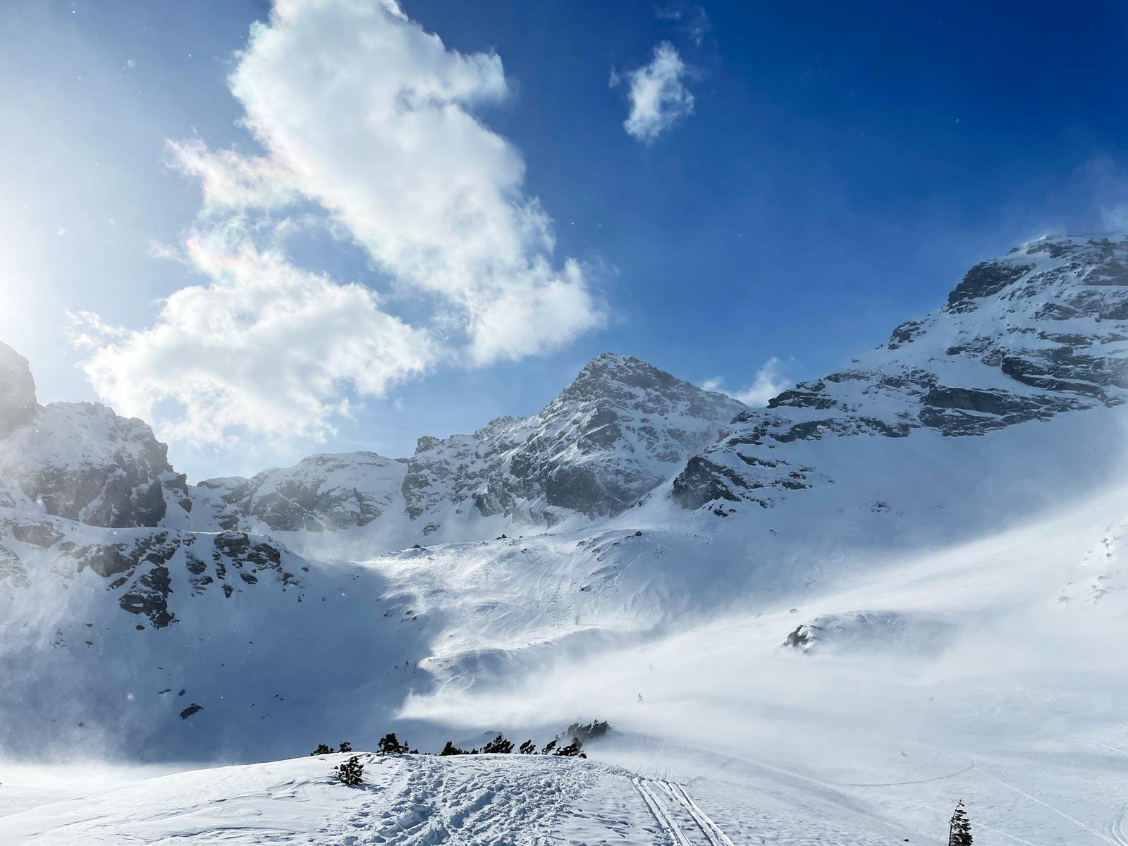 Zima w Tatrach - kwiecień 2021