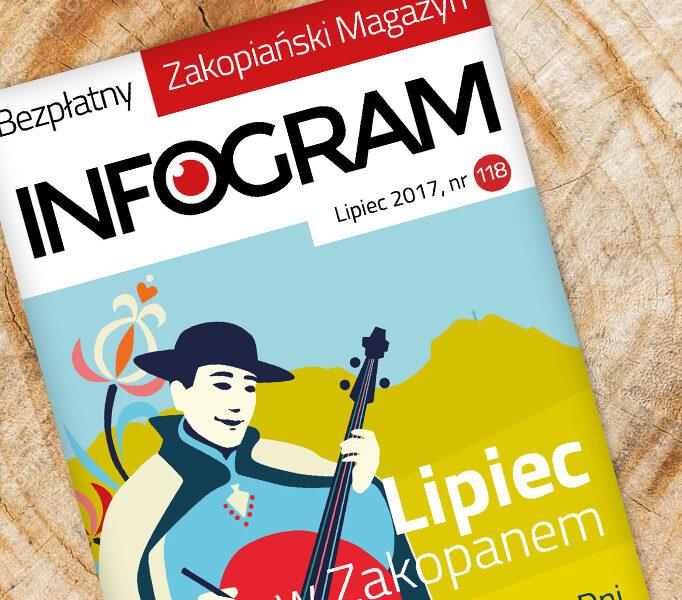 Przeczytaj lipcowy Infogram i poznaj atrakcje Zakopanego!