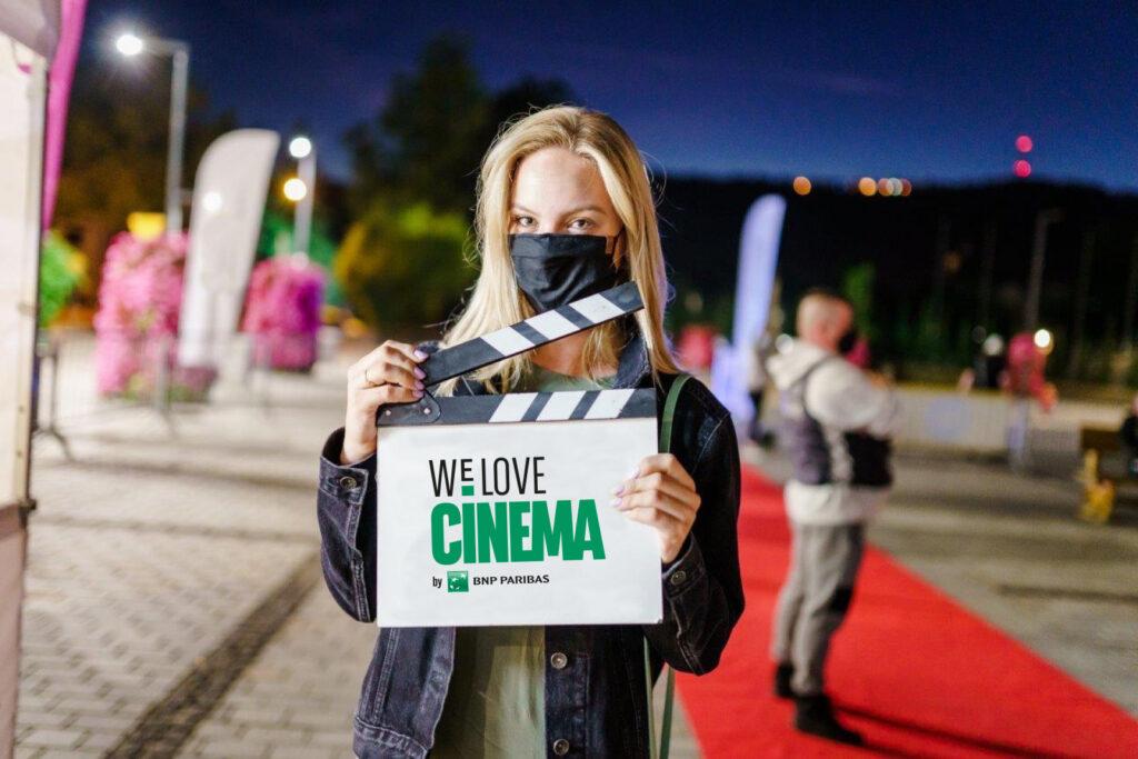 Plenerowe kino letnie w Zakopanem