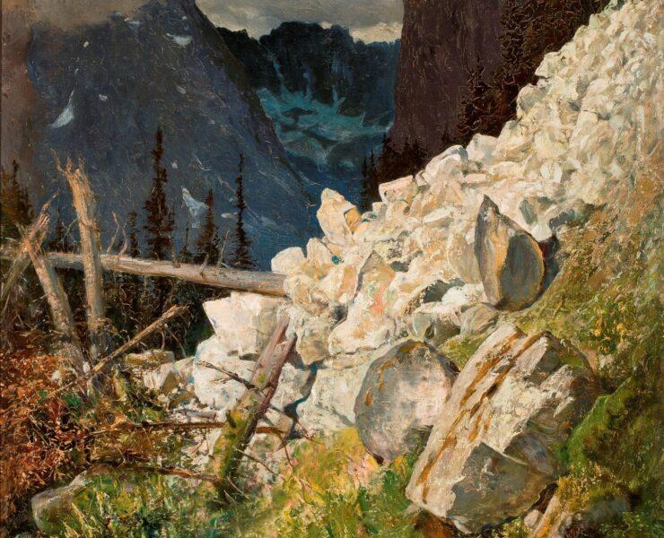Gerson w Tatrach wernisaż wystawy w Okszy