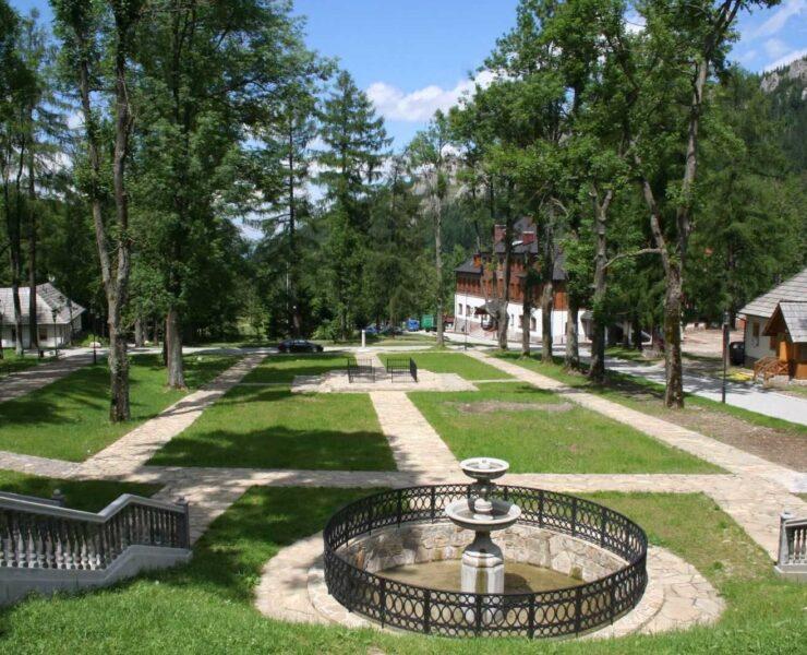 Park Zamoyskich w Kuźnicach