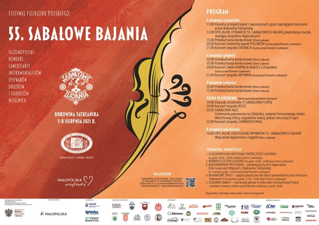 Festiwal Sabałowe Bajania w Bukowinie Tatrzańskiej
