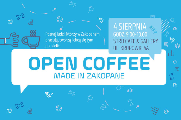 Open Coffee Made in Zakopane