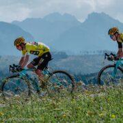 Tour de Pologne na Podhalu, w Zakopanem, Bukowinie, Chochołowie